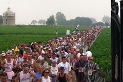 Cerca de 8.500 maratonistas de todo o mundo participam anualmente
