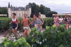 A Marathon du Menoc é o ápice do conceito do maraturismo. Olha esse castelo!