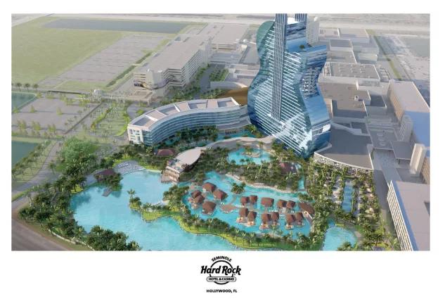 Croqui da expansão do novo hotel