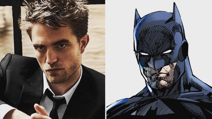 O britânico Robert Pattinson dará vida ao novo Batman