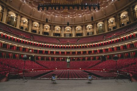 Palco do Royal Albert Hall